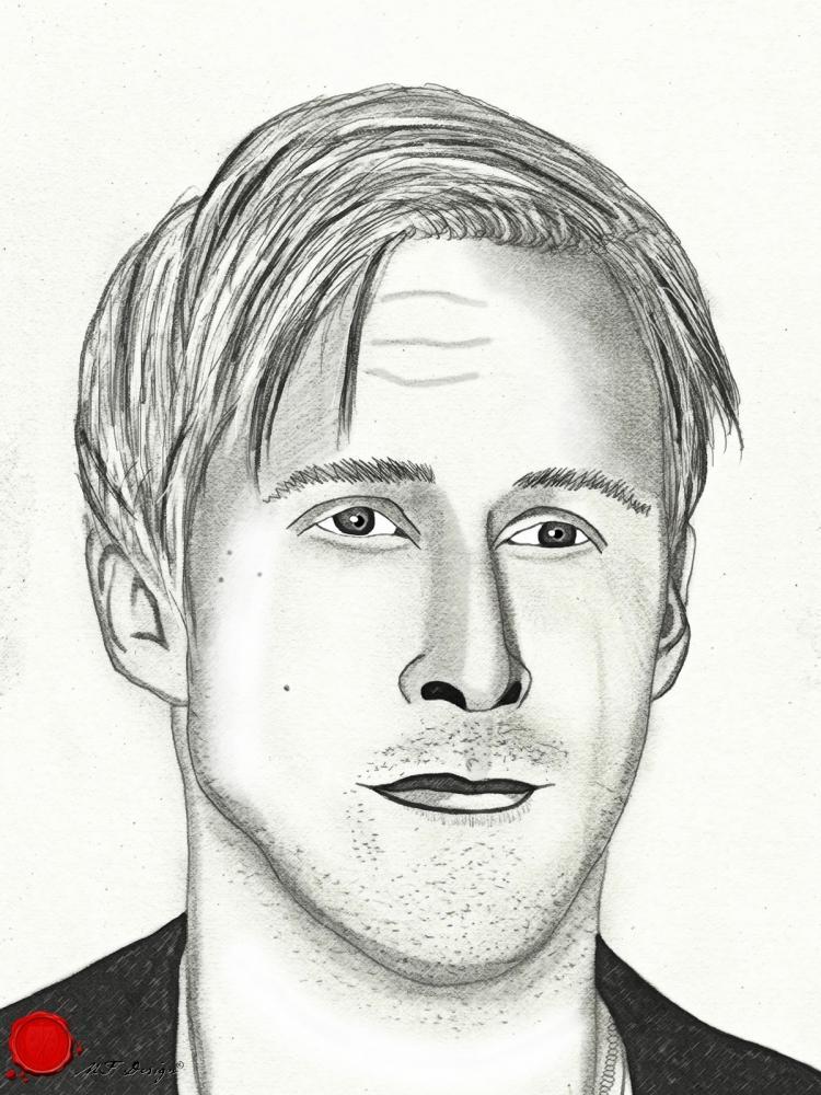 Ryan Gosling by merytamon